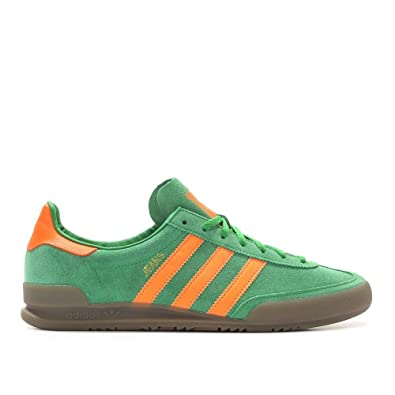 watch buying now new design Adidas Jeans, green/solar orange/gum: Amazon.co.uk: Shoes & Bags