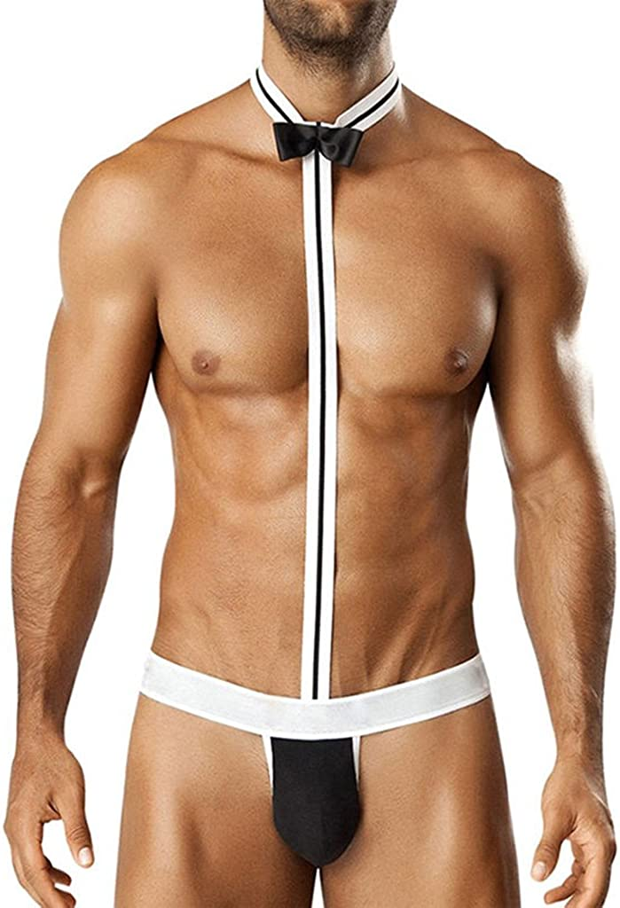 Mankini Beach Swimwear Mens THONG sexy ropa interior de cintura ...