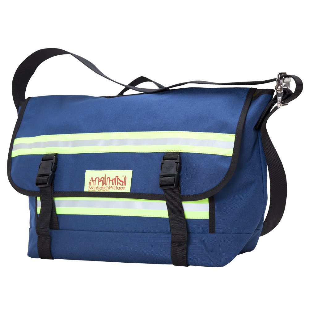 Manhattan Portage Medium Professional Bike Messenger Bag (Navy) by Manhattan Portage