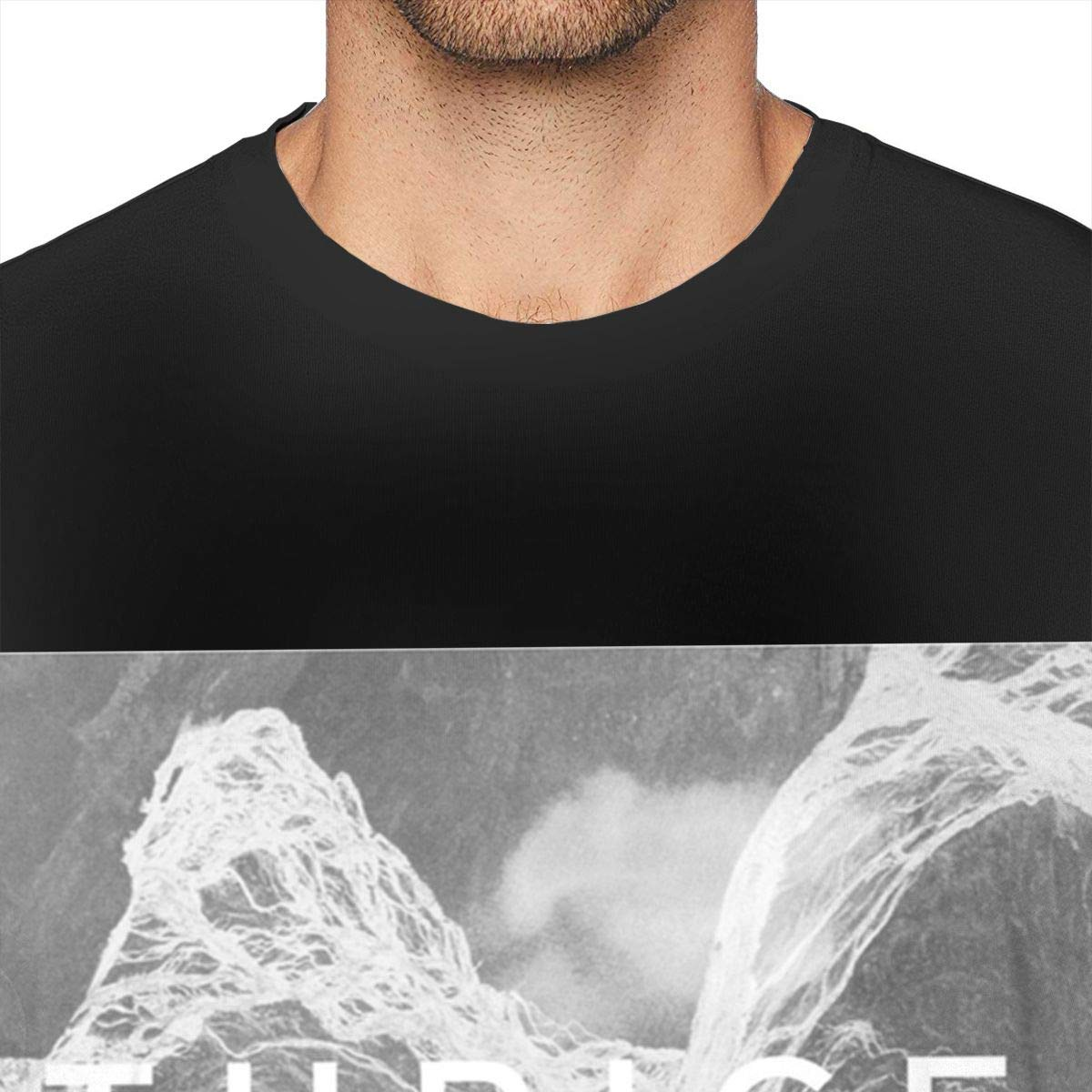 BODATU Mens Design with Thrice to Be Everywhere is to Be Nowhere Ultra Soft Shirs