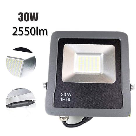 Foco Proyector LED, Super Brillante El Ahorro de Energía ...