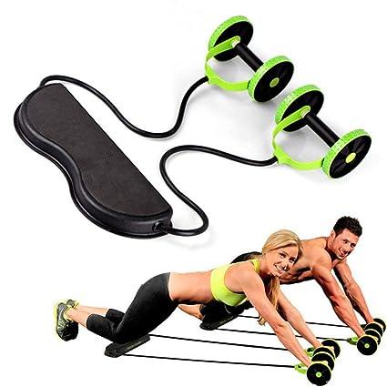 Amazon.com: Rueda abdominal para entrenamiento con esterilla ...