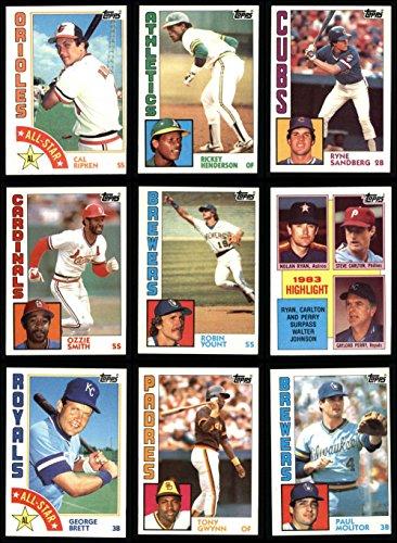 (1984 Topps Baseball Complete Set (In Binder) (Baseball Set) Dean's Cards 8 - NM/MT)