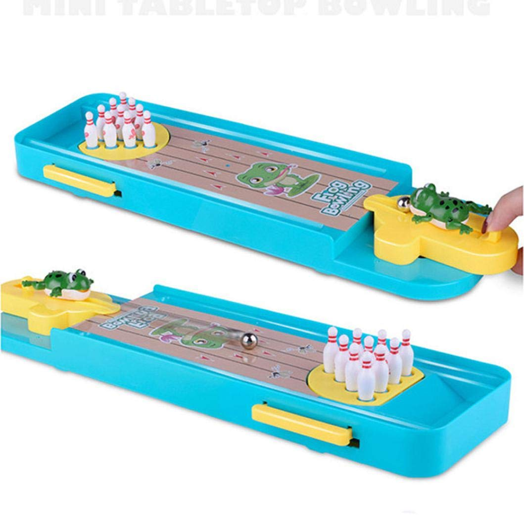Kanzd Novelty Funny Indoor Game Gas Out Board Game Desktop Games Toy Bowling Kid (A) by Kanzd (Image #3)