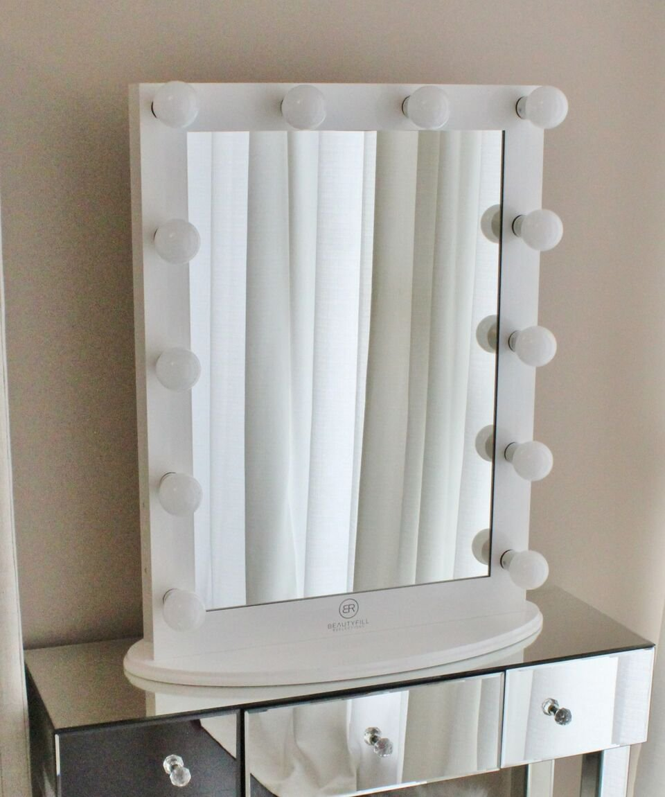 Amazon.com - Hollywood Makeup Vanity Mirror with Lights, Tabletop or ...