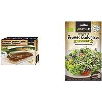 Semillas Ecológicas Bortes - Brotes Kit GERMINADOR - Batlle + Ecológicas Brotes - Brotes ecológicos de Mix vitalidad…