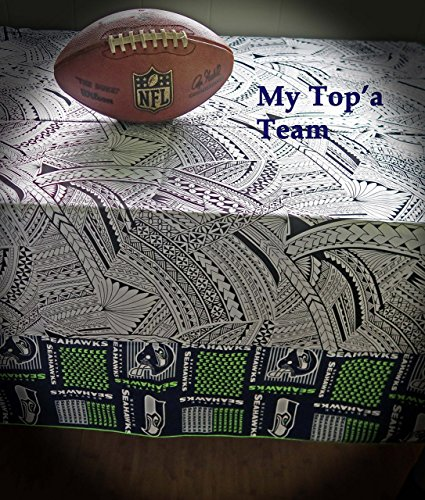 - Tablecloth - Seahawks Top'a Team Tablecloth - 44x88 - READY TO SHIP NOW via USPS Priority! Made in Hawaii