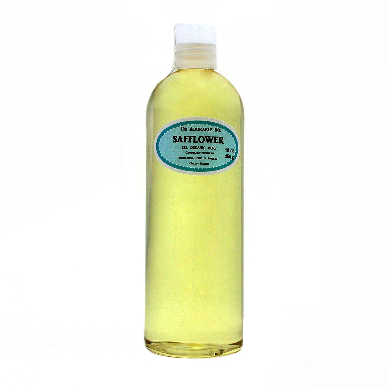 Safflower OIL High Oleic Organic 100% Pure 16 Oz / 1 Pint