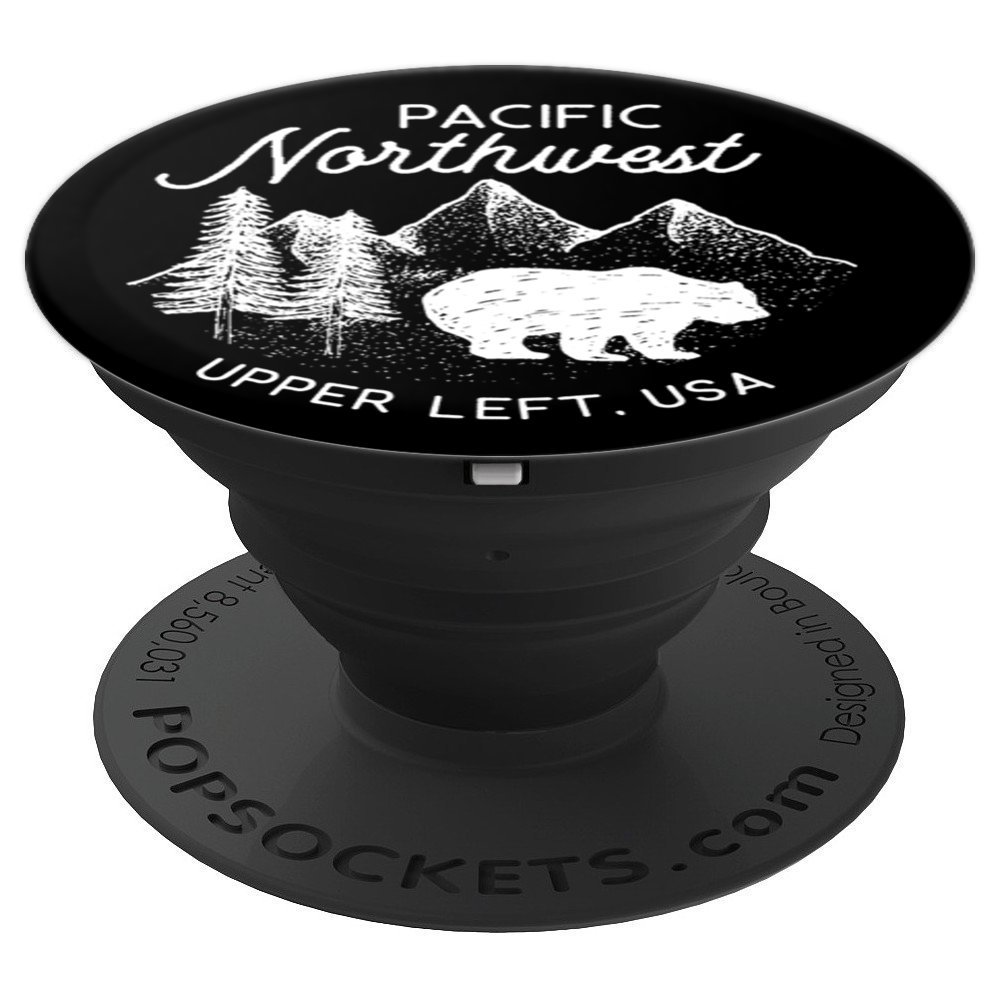 Pacific Northwest Hiking - PopSockets Grip and Stand for Phones and Tablets