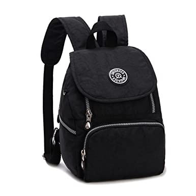 Amazon.com | Tiny Chou Mini Waterproof Nylon Backpack Lightweight ...