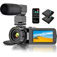 Actitop 1080P FHD 24.0MP 16X Digital Zoom Camcorder