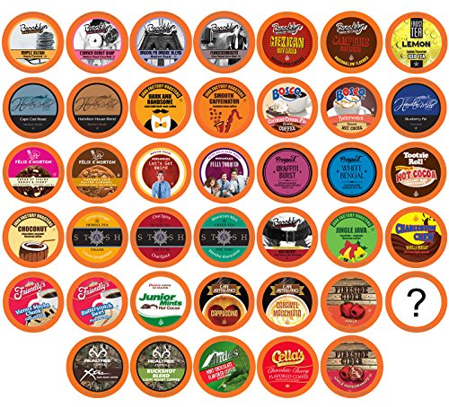 Two Rivers Sampler Pack Single Keurig Cup Brewers, Bit of Everything, 100 (Pod Sampler)