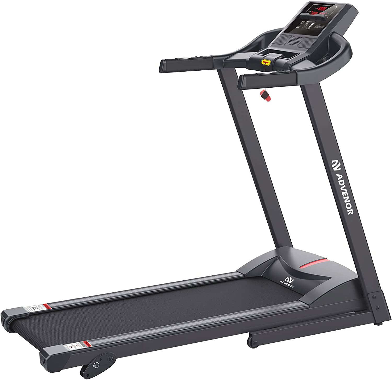 ADVENOR Treadmill Motorized Treadmills 2.5 HP Electric Running Machine Folding Exercise Incline Fitness Indoor