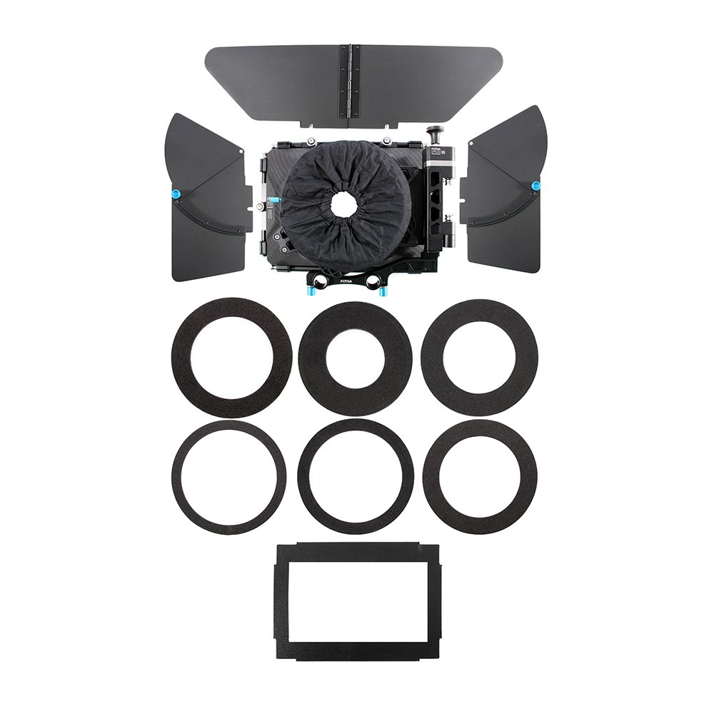 Fotga DP500 III DSLR Swing Away Matte Box + Sunshade Board +Filter Holder + 15mm Rod Adapter for Canon 5D3 BMPCC Sony A7R A7S Panasonic GH3 GH4 GH5 Camera by Fotoplaza (Image #5)