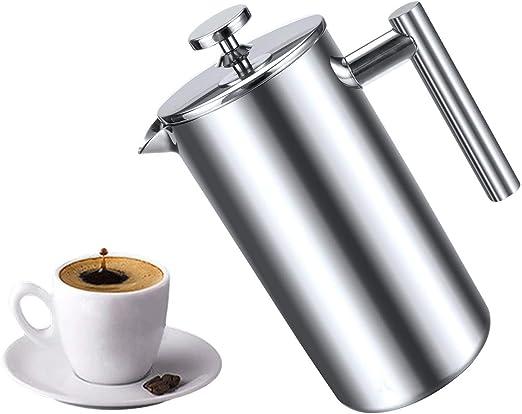 HEYU-Cafetera italiana Moka Pot, 350 ml ~ 1000 ml, cafetera ...