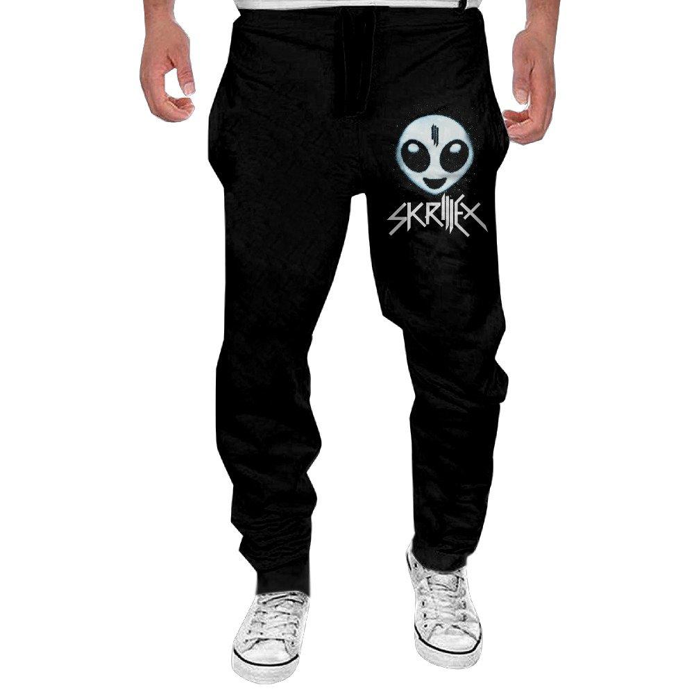 Mens Skrillex Alien Logo Jogging Sweatpants