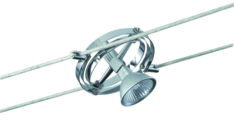 Paulmann Kardangelenk Innen geeignet für Verwendung im Innen GU5.3surfaced Lighting Spot 35W C Aluminium, chrom–Spot-Licht (Aluminium, chrom, surfaced Lighting Spot, Metal, III, GU5.3, 1Leuchtmittel (S)) [Energieklasse B] 1Leuchtmittel (S))