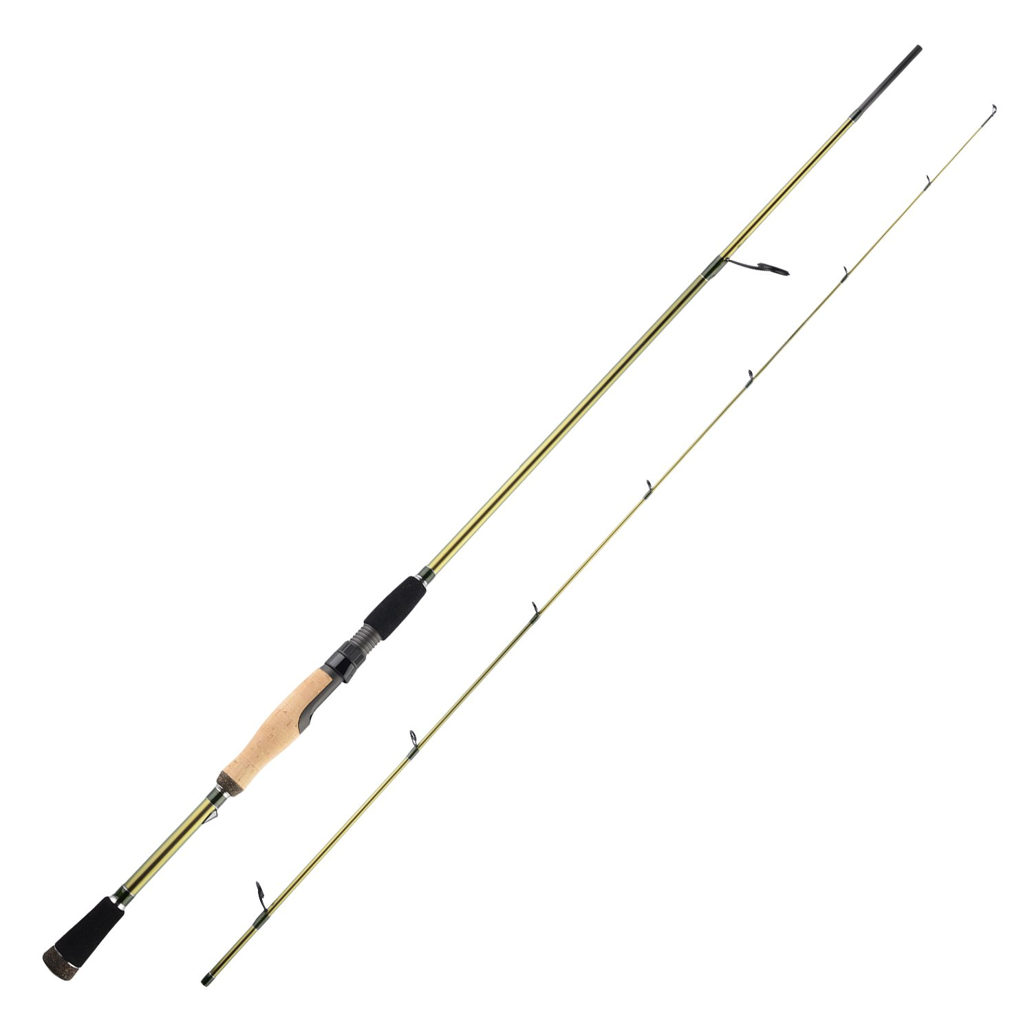 KastKing WideEye Walleye Fishing Rods, Technique Specific Walleye Rod, Casting Spinning Fishing Rods, Toray Carbon IM9 Blanks, Fuji Guides Reel Seats, 3A Cork Handle, EVA Foregrip Fighting Butt