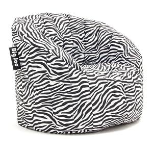 Big Joe Lumin SmartMax Fabric Chair, Zebra