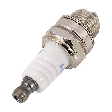 55 * 22 mm bujías bujías, motosierra césped bujía bujía enchufe pequeño motor accesorio para