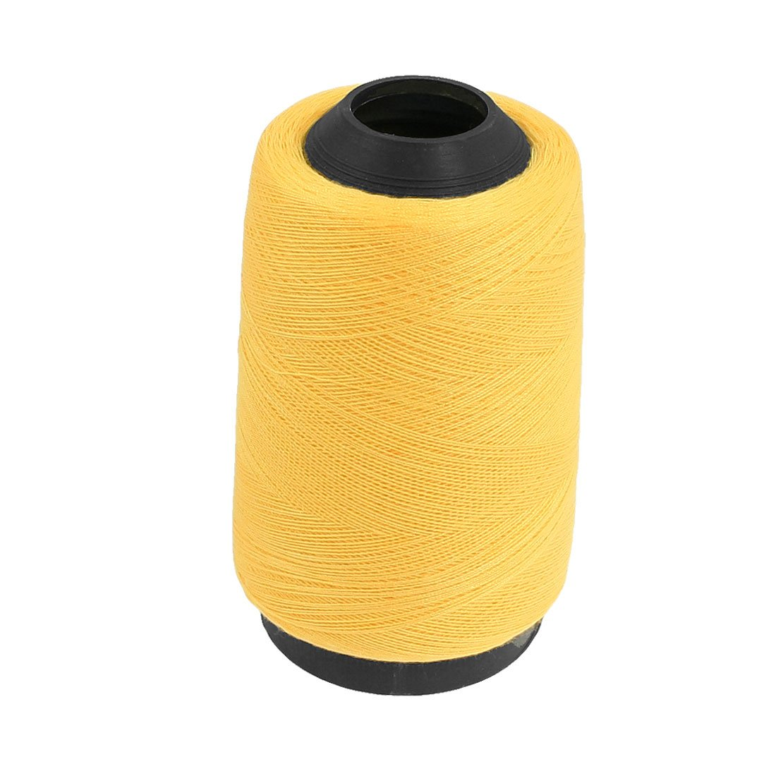 uxcell Embroidery Machine Sewing Quilting Thread String Spool Yellow a12090700ux0411