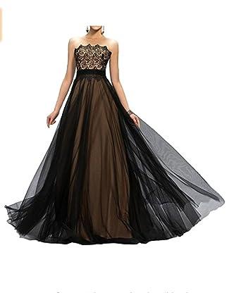 Alice Dressy Black Long Evening Dress Prom Dresses Princess Maxi ...