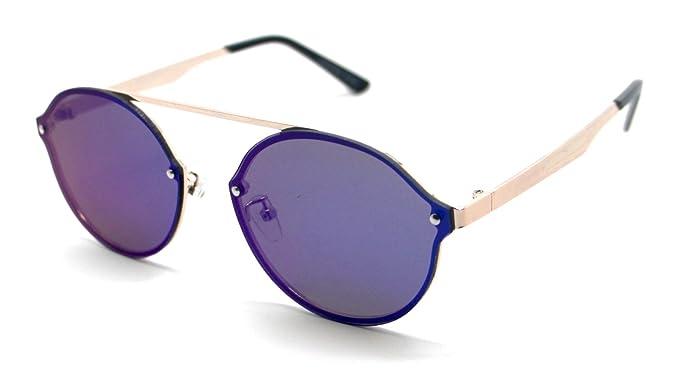 Gafas de Sol Hombre Mujer Espejo Lagofree W7032: Amazon.es ...