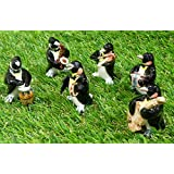 Figurine Penguin Orchestra Band Ceramic 25 Collection Home Decor Souvenir Gift