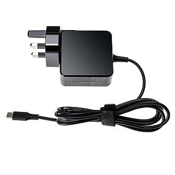 20 V 2,25 A 45 W USB tipo C adaptador cargador fuente de ...