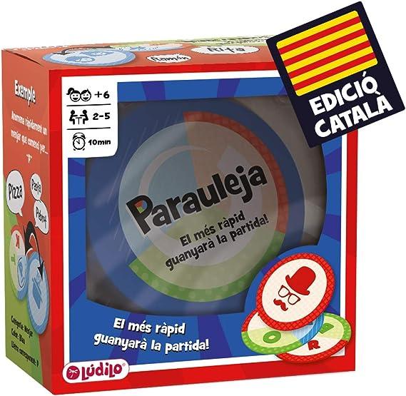 Parauleja, Joc educatiu en família dagilitat mental, Desenvolupament del llenguatge (lúdilo): Amazon.es: Juguetes y juegos