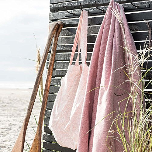 IB Laursen Baumwolltasche rosa-weiß