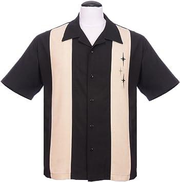 STEADY CLOTHING Three Star Panel Camisa para Hombre, Hombre, Three Star Panel, marrón, XS: Amazon.es: Deportes y aire libre