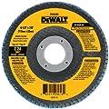 DEWALT DW8303 4-Inch by 5/8-Inch 80 Grit Zirconia Angle Grinder Flap Disc