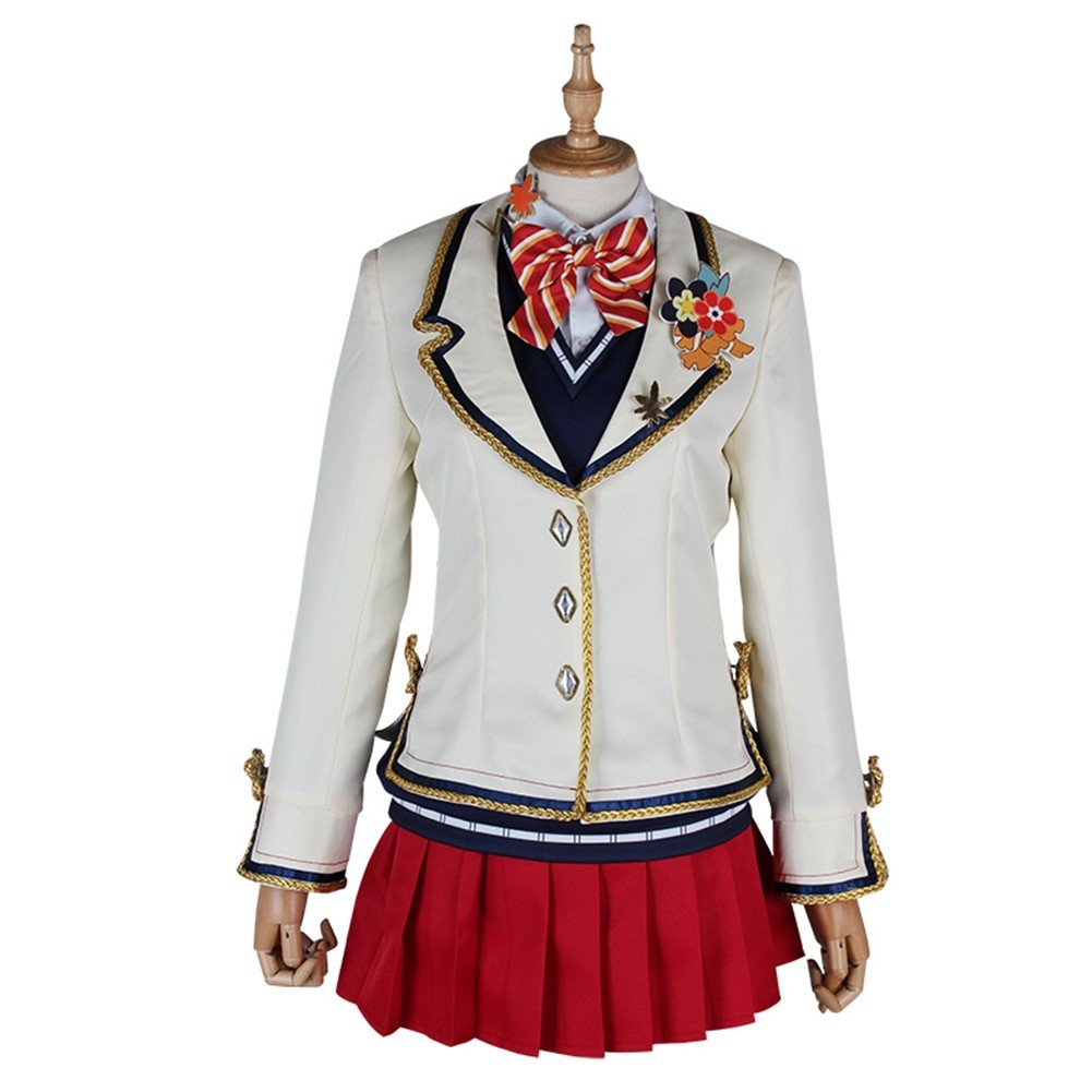 Love Live! Sunshine! Riko Sakurauchi Red Leaves Cosplay Costume