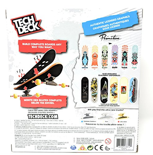 Tech Deck Sk8shop Bonus Pack Primitive Skateboarding with 6 Fingerboards by Tech Deck (Image #1)