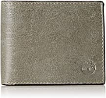 Timberland Men's Fine Break Passcase, Grey, One Size