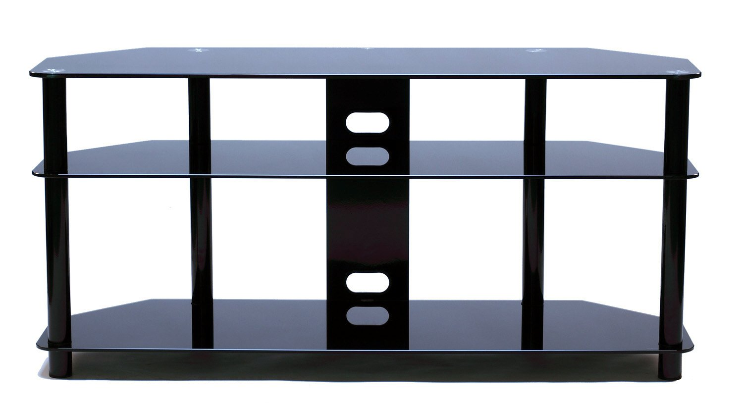 TransDeco LCD/LED TV Stand with Casters for 30-60 inch Flat Panel LCD Television