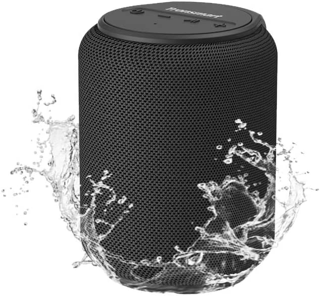 Amazon Com Bluetooth Speakers Tronsmart T6 Mini 15w Ultra Portable Speaker With 24 Hours Playtime Good Bass Ipx6 Waterproof Bluetooth 5 0 Wireless Stereo Pairing Voice Assistant Built In Microphone Alexa Home Audio Theater