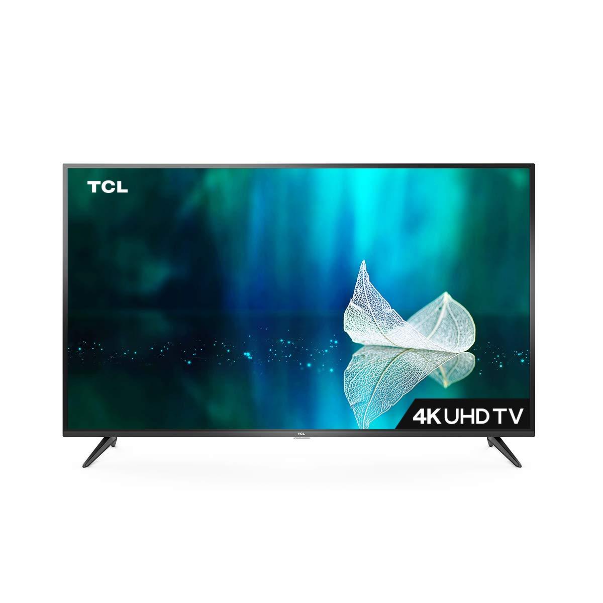 TCL 107.88 cm (43 inches) 4K Ultra HD Smart LED TV 43P65US-2019 (Black)