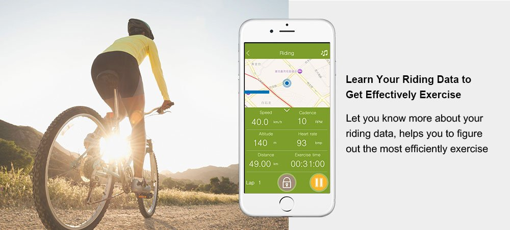 CooSpo Bike Speed Cadence Sensor Cycling Bluetooth ANT+ Fitness Tracker Wahoo Strava MapMyRide