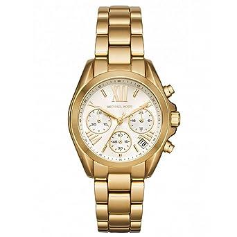 78f240769987 Michael Kors MK6267 Women s Bradshaw Mini Champagne Dial Yellow Gold Steel  Chronograph Watch