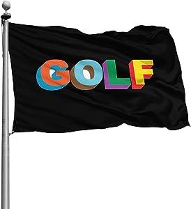 Csiihggogdyw Golf Wang Tyler The Creator Rap Garden Flag 46 Feet Outdoor Patio/Home Decor.