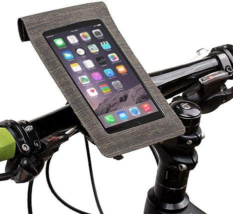 Soporte Bolsa Movil Bicicleta,Bolsa De Teléfono Bicicleta In Frame Pantalla Táctil a Prueba de Agua,Soporte Movil Micicleta Moto para iPhone Galaxy y 4.5