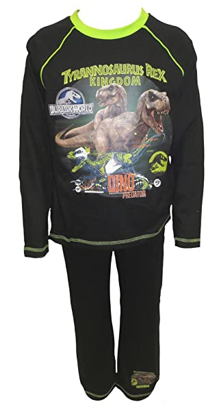 Jurassic World - Pijama dos piezas - para niño Negro negro