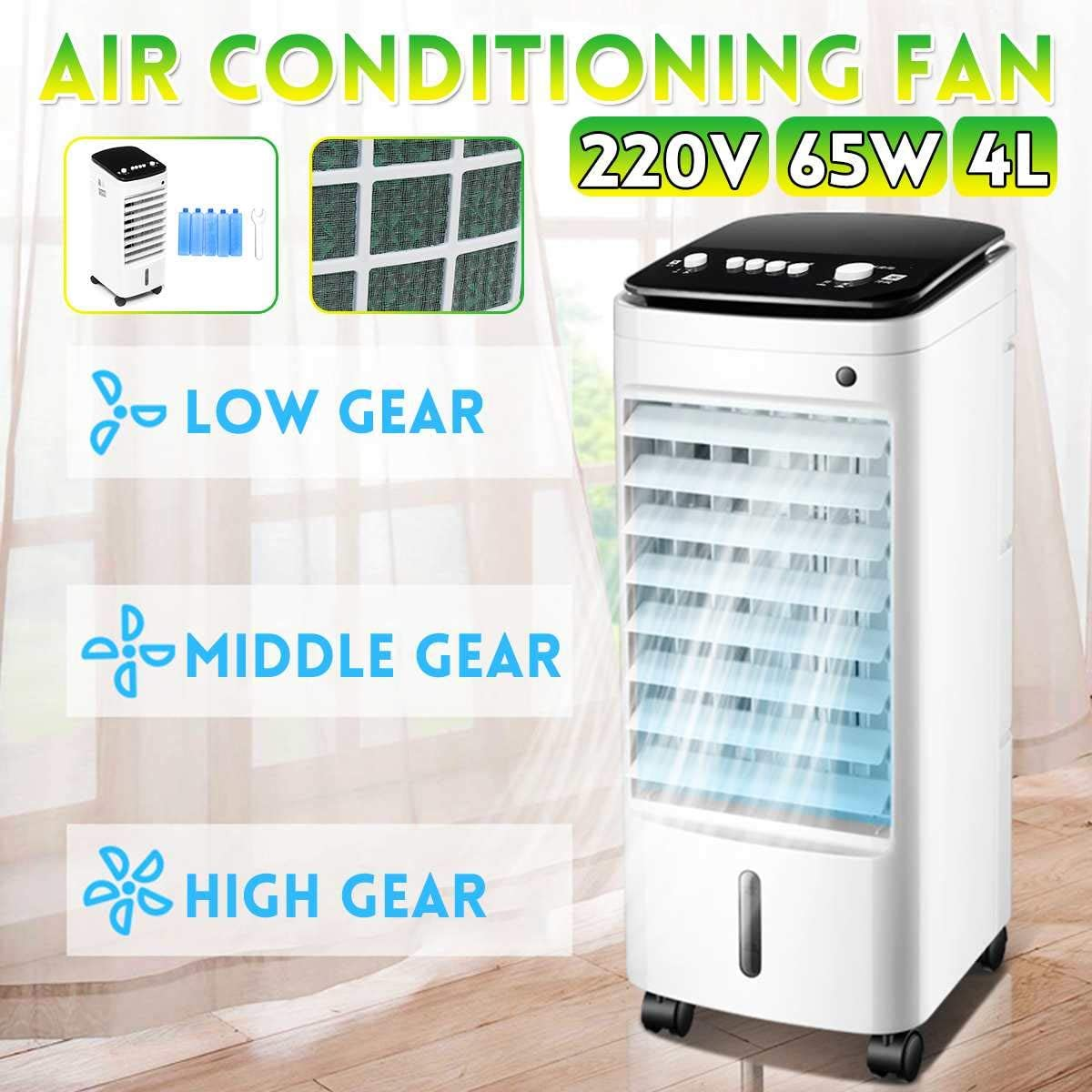Details about Portable Air Conditioner Conditioning Fan Humidifier Cooler Cooling System