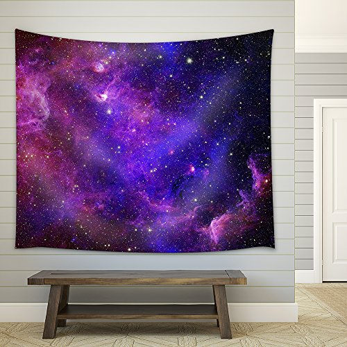 Galaxy stars Abstract space background Elements of this image furnished by NASA Fabric Wall
