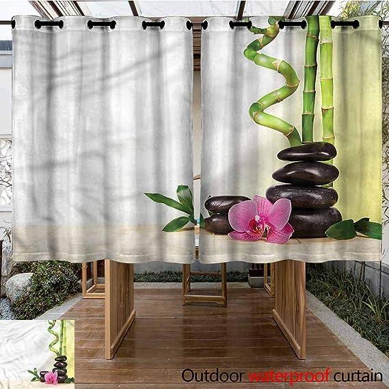 Sunnyhome - Cortina de bambú Japonesa para Exteriores, para Porche, Playa y Patio: Amazon.es: Jardín
