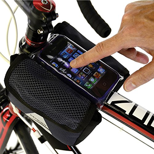 Axiom Smart Bag Touch Top Tube, Grey/Black
