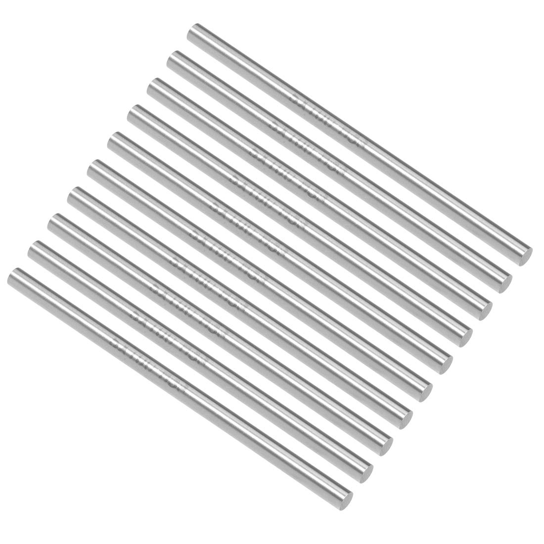 10 Pcs for Shaft Miniature Axle DIY Craft Tool sourcing map Round Rod 1.5mm Diameter 100mm Length HSS Lathe Bar Stock