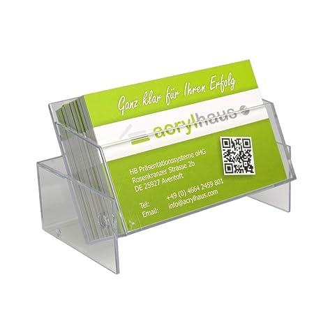 10 pieza Tarjetas de Visita de caja/soporte para tarjeta de visita/tarjeta de visita Soporte/tarjeta de visita dispensador para tarjetas de visita 85 x 55 ...